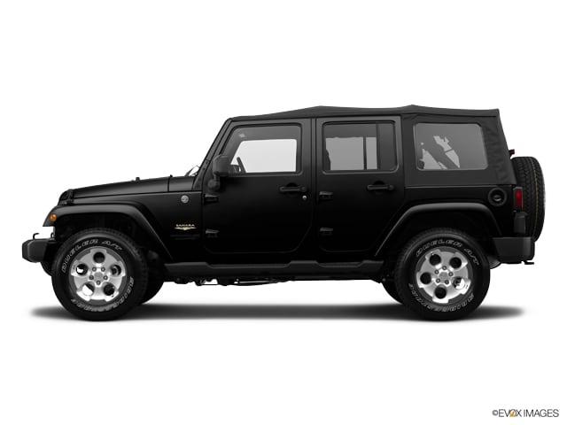 Photo Pre-Owned 2014 Jeep Wrangler Unlimited Sahara 4x4 SUV near Tampa FL