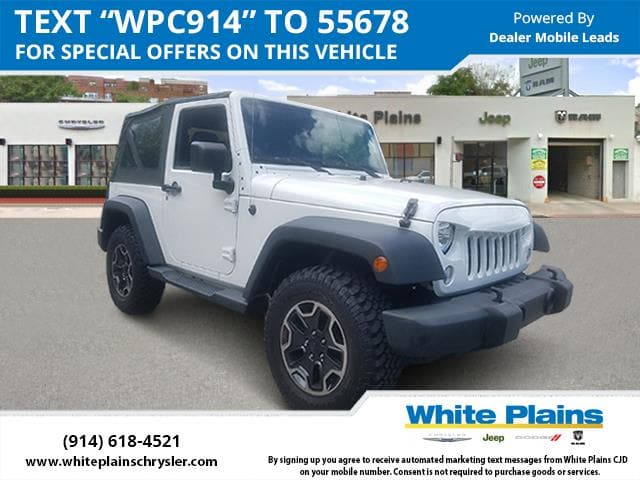 Photo 2014 Jeep Wrangler 4WD 2dr Sport Sport Utility in White Plains, NY