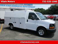 2014 Chevrolet Express G 3500 ENCLOSED UTILITY BODY SINGLE REAR WHEEL