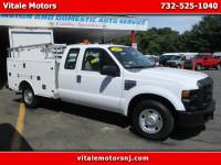 2008 Ford F-250 SD SUPER CAB FIBERGLASS UTILITY BODY 2WD