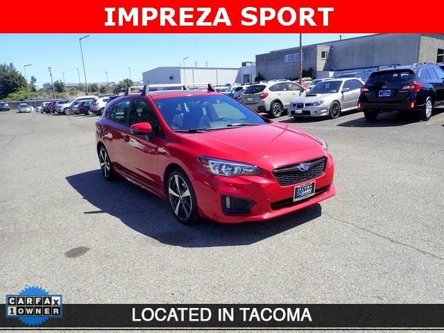 Photo Certified Pre-Owned 2018 Subaru Impreza 2.0i Sport for Sale in Tacoma, near Auburn WA