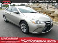 Pre-Owned 2015 Toyota Camry LE Sedan in Greenville SC