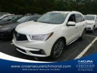 Certified 2017 Acura MDX V6 SH-AWD with Advance Packages in Richmond VA