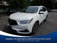 Pre-Owned 2017 Acura MDX V6 SH-AWD with Advance Packages in Richmond VA