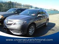 Pre-Owned 2017 Acura RDX V6 AWD with Technology Package in Richmond VA