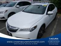 Certified 2016 Acura TLX Base (DCT) in Richmond VA
