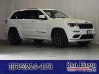Certified 2018 Jeep Grand Cherokee Overland RWD SUV in San Diego