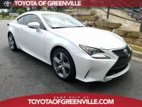 Pre-Owned 2016 LEXUS RC 200t Coupe in Greenville SC