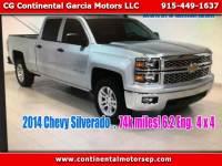 2014 Chevrolet Silverado 1500 2LZ Crew Cab Long Box 4WD