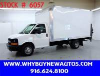2016 Chevrolet Express 3500 ~ Liftgate ~ 14ft. Box Van ~ Only 66K Miles!