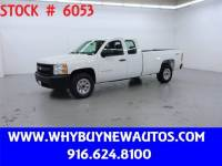 2013 Chevrolet Silverado 1500 ~ 4x4 ~ Extended Cab ~ Only 70K Miles!