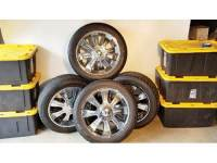 TIRES: 4 PERFORMANCE X/P STEEL BELTED RADIAL ...