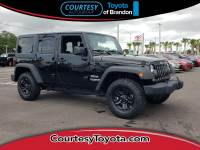 Pre-Owned 2017 Jeep Wrangler JK Unlimited Sport 4x4 SUV in Jacksonville FL