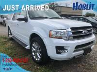 2017 Ford Expedition EL Limited 4x4 EcoBoost w/ 3rd Row Seating & Navigation