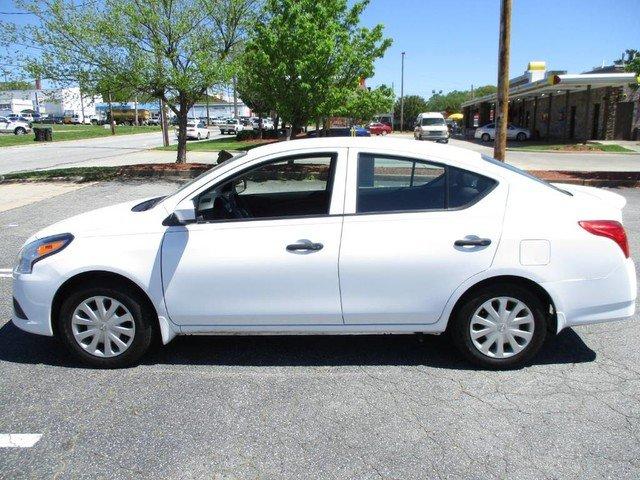 Photo Used 2017 Nissan Versa S Sedan For Sale in High-Point, NC near Greensboro and Winston Salem, NC