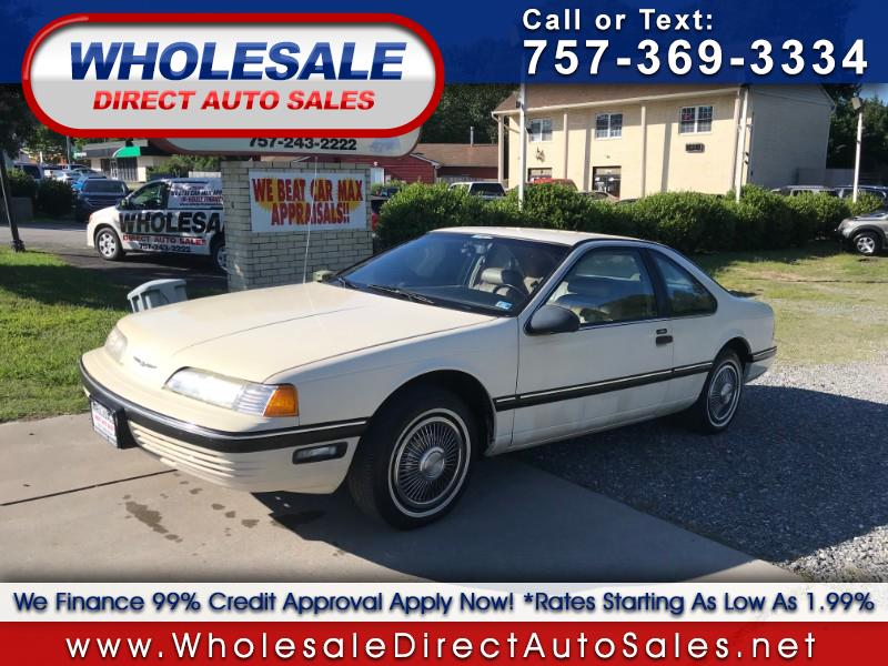 Photo 1989 Ford Thunderbird 2dr Coupe LX