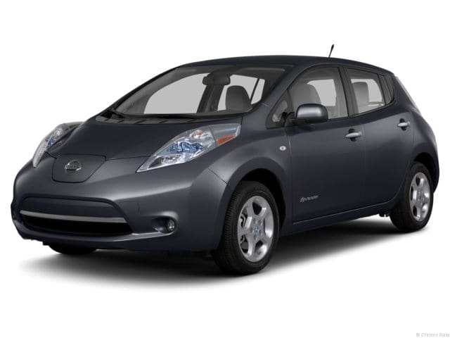 Photo Used 2013 Nissan LEAF Hatchback in Kennesaw