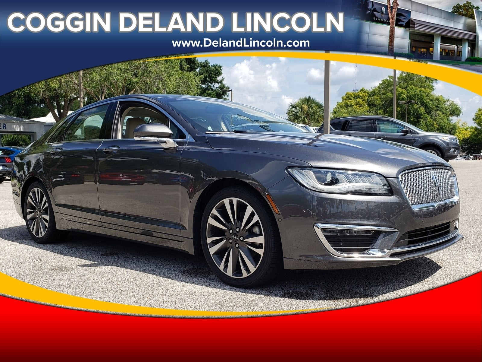 Photo Pre-Owned 2017 Lincoln MKZ Select Select FWD in Jacksonville FL