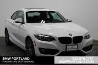 Pre-Owned 2019 BMW 2 Series 230i Coupe Car in Portland