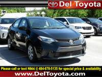 Certified Pre-Owned 2016 Toyota Corolla For Sale in Thorndale, PA | Near Malvern, Coatesville, West Chester & Downingtown, PA | VIN:2T1BURHEXGC704949