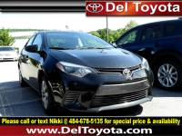 Certified Pre-Owned 2016 Toyota Corolla For Sale in Thorndale, PA | Near Malvern, Coatesville, West Chester & Downingtown, PA | VIN:2T1BURHE3GC686620