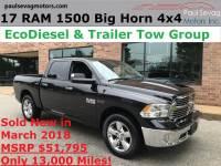 Used 2017 Ram 1500 Crew Cab For Sale at Paul Sevag Motors, Inc. | VIN: 1C6RR7LM3HS879151