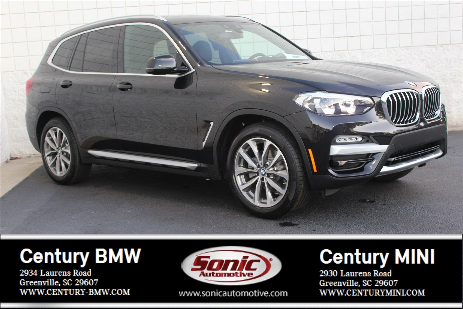 Photo Pre-Owned 2019 BMW X3 xDrive30i SAV in Greenville, SC