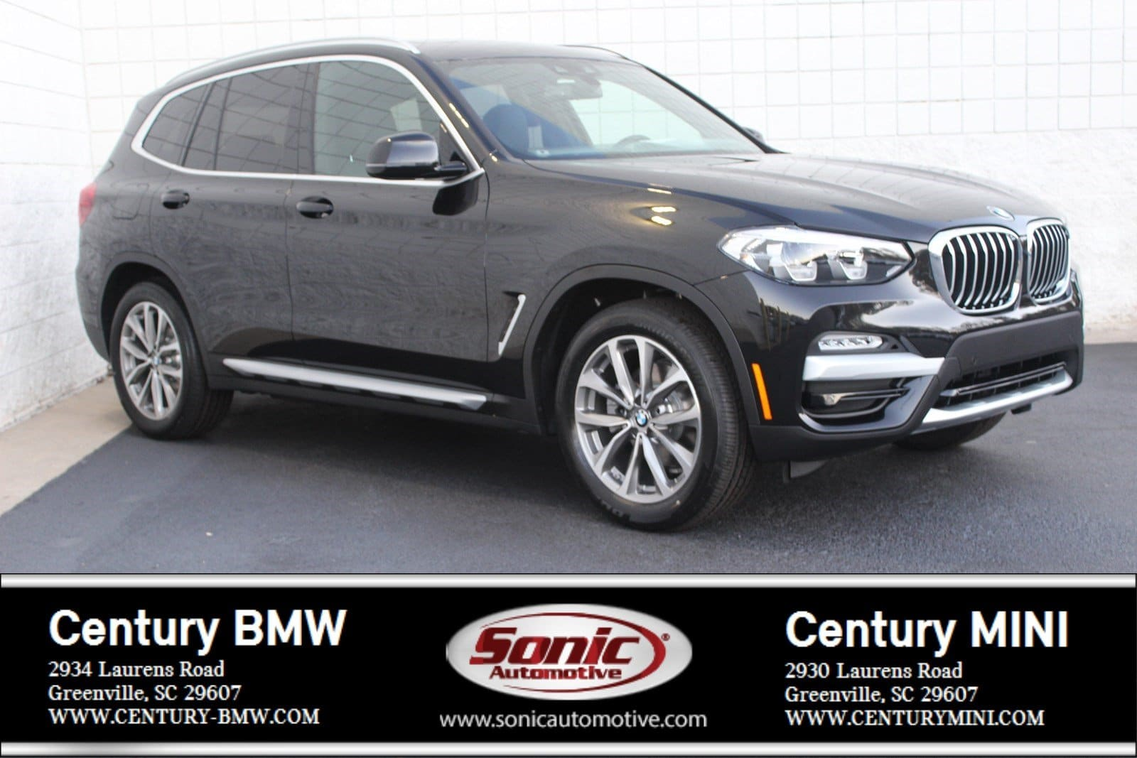 Photo Pre-Owned 2019 BMW X3 sDrive30i SAV in Greenville, SC