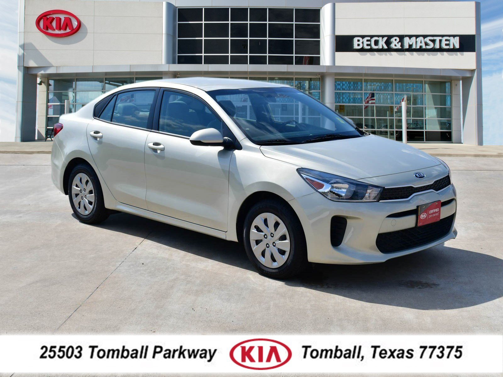 Photo 2018 Kia Rio S Sedan near Houston in Tomball, TX