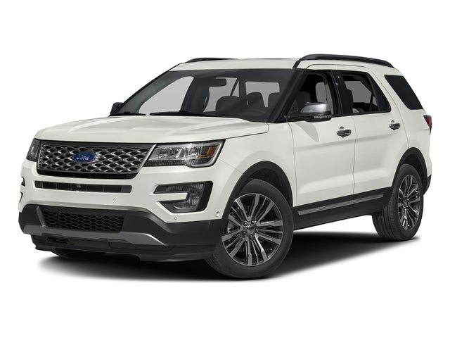 Photo 2016 Ford Explorer Platinum - Ford dealer in Amarillo TX  Used Ford dealership serving Dumas Lubbock Plainview Pampa TX