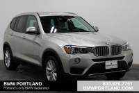 Certified Pre-Owned 2017 BMW X3 Xdrive28i Sports Activity Vehicle Sport Utility in Portland