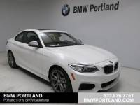 Certified Pre-Owned 2017 BMW 2 Series M240i Coupe Car in Portland