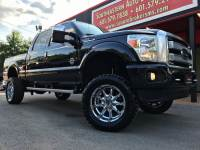 2013 Ford F-250 SD PLATINUM CREW CAB SHORT BED 4WD CUSTOM LIFTED
