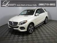 Certified Pre-Owned 2017 Mercedes-Benz GLE 350 4MATIC SUV for Sale in Sioux Falls near Vermillion