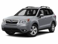 Pre-Owned 2015 Subaru Forester 2.5i Limited (CVT)