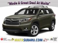 Used 2015 Toyota Highlander XLE Available in Sacramento CA