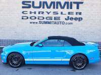 2013 Ford Mustang GT500 CONVERTIBLE-GRABBER BLUE-WHITE STRIPES-SVT P Convertible