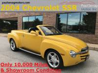 Used 2004 Chevrolet SSR Retractable Hardtop Roadster For Sale at Paul Sevag Motors, Inc. | VIN: 1GCES14P24B104948