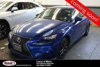 L/Certified 2016 Lexus IS Turbo 4dr Sdn F SPORT