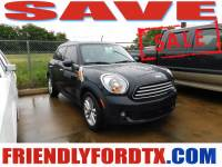 Used 2013 MINI Cooper Countryman Cooper Countryman SUV I4 DOHC 16V for Sale in Crosby near Houston
