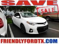 Used 2016 Toyota Corolla S Premium Sedan I4 DOHC Dual VVT-i for Sale in Crosby near Houston