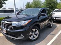 Used 2014 Toyota Highlander Limited SUV in Bowie, MD