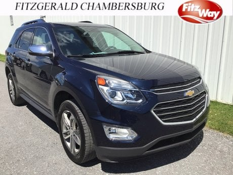 Photo Used 2017 Chevrolet Equinox Premier for sale in Rockville, MD