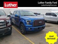 2016 Ford F-150 4WD Supercrew 145 Lariat Truck SuperCrew Cab V-6 cyl