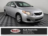 Pre-Owned 2010 Toyota Corolla 4dr Sdn Man (Natl)
