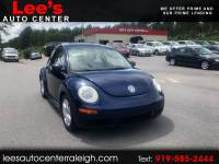 2007 Volkswagen New Beetle Coupe 2dr Manual