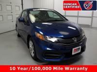 Used 2014 Honda Civic Coupe For Sale at Duncan's Hokie Honda | VIN: 2HGFG3B57EH503853