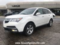 Pre-Owned 2011 Acura MDX MDX With Technology Package SUV in Greenville SC