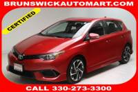 Certified Used 2017 Toyota Corolla iM Base in Brunswick, OH, near Cleveland