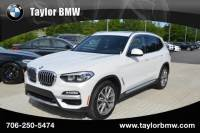 2019 BMW X3 sDrive30i Sports Activity Vehicle in Evans, GA | BMW X3 | Taylor BMW